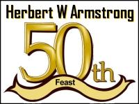 Herbert W Armstrong's 50th Feast