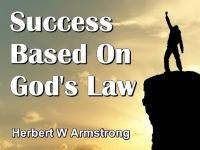 Success Based On God's Law