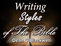 Writing Styles of The Bible