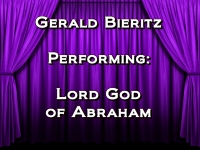 Listen to Lord God of Abraham