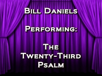 Listen to The Twenty-Third Psalm
