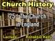 Church History - Lecture 25 - The Church in England