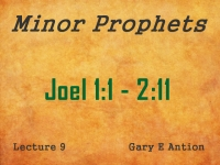 Listen to Minor Prophets - Lecture 9 - Joel 1:1 - 2:11