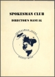 Spokesman Club Director's Manual