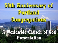 Watch  50th Anniversary of Portland Congregations
