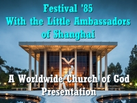Watch  Festival '85 - With the Little Ambassadors of Shanghai