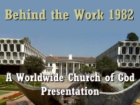 Watch  Behind the Work 1982 - A Worldwide Church of God Presentation