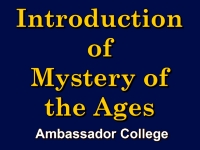 Listen to Introduction of Mystery of the Ages
