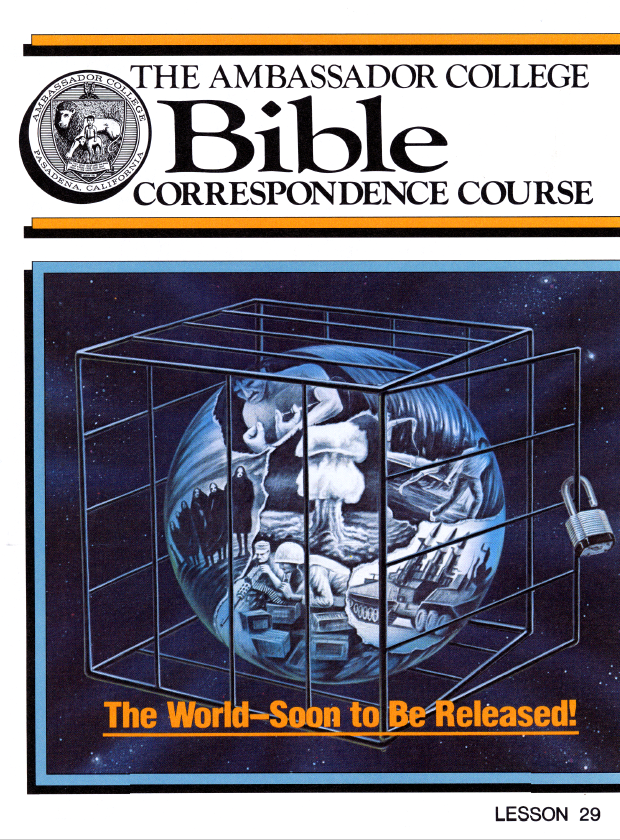 Lesson 29 - Day Of Atonement - The World at One with God
