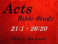 Listen to  Acts 21:1 - 26:20