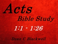 Listen to  Acts 1:1 - 1:26
