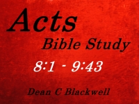 Listen to  Acts 8:1 - 9:43