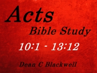 Listen to  Acts 10:1 - 13:12