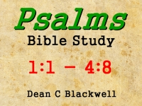 Listen to  Psalms 1:1 - 4:8