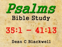 Listen to  Psalms 35:1 - 41:13
