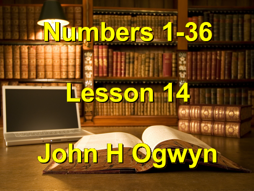 Lesson 14 - Numbers 1-36