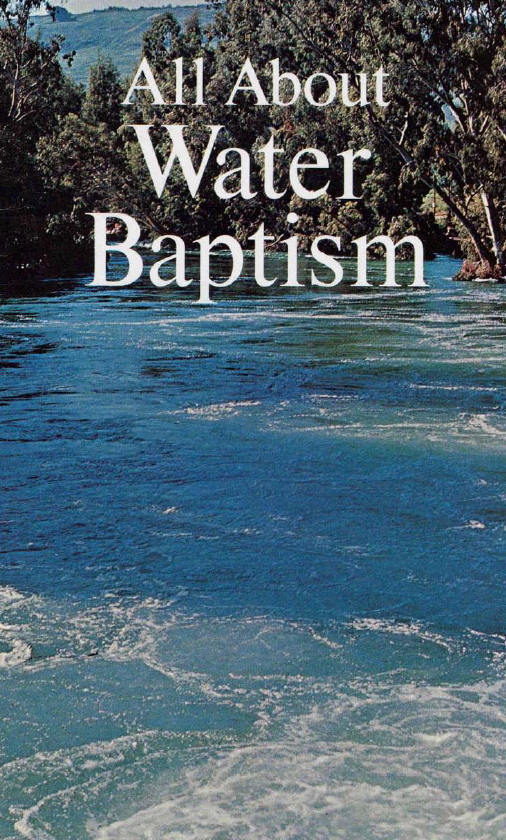 All About Water Baptism
