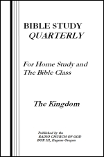 Bible Study Quarterly - The Kingdom