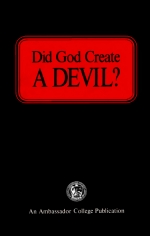 Did God Create A DEVIL?
