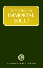Thesis immortal soul