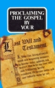 Proclaiming The Gospel by your Last Will and Testament