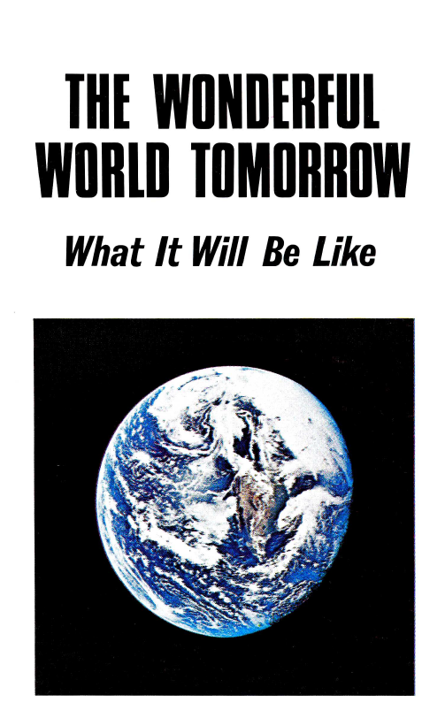 The Wonderful World Tomorrow - What It Will Be Like
