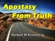 Apostasy From Truth