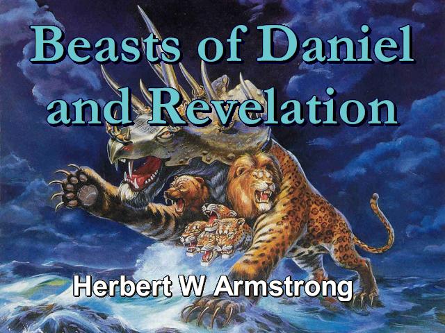beasts of daniel and revelation