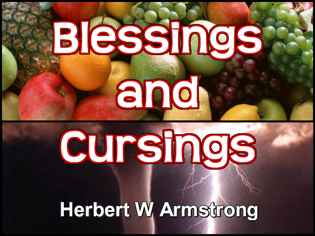 Blessings and Cursings