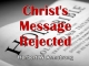 Christ's Message Rejected