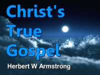 Listen to Christ's True Gospel