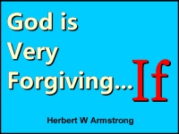 Listen to God is Very Forgiving... If