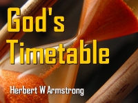 Listen to God's Timetable