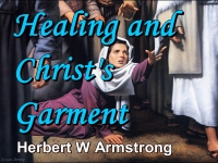 Listen to Healing and Christ's Garment