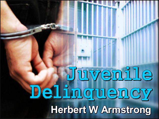 Hebrews Series 13 - Juvenile Delinquency