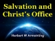 Hebrews Series 09 - Salvation & Christ's Office