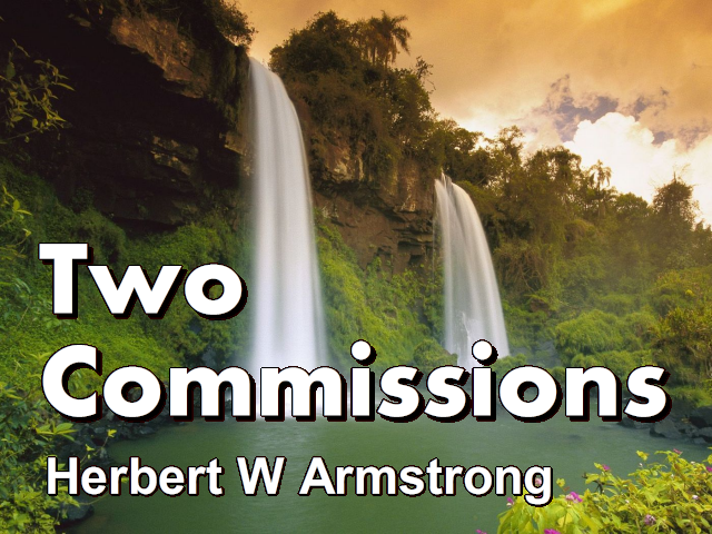 Hebrews Series 14 - Two Commissions