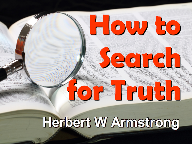 How to Search for Truth