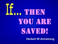 Listen to If... Then You Are Saved!