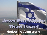 Listen to Jews Elsewhere Than Israel