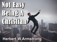 Listen to Not Easy Being A Christian