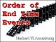 Order of End Time Events