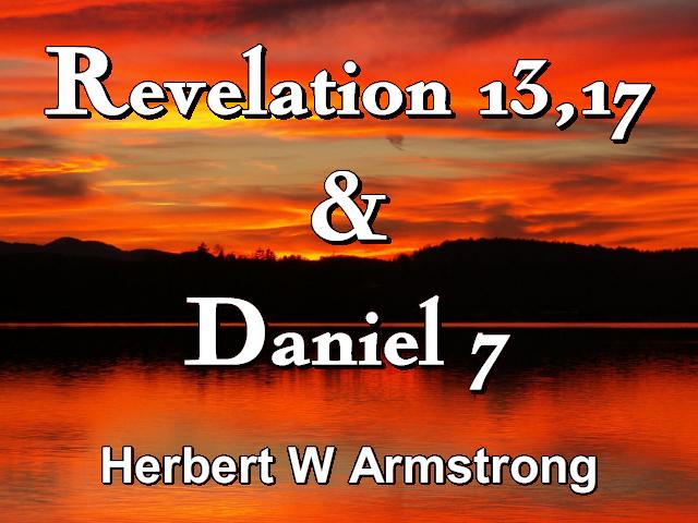 Revelation 13,17 & Daniel 7