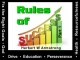 Rules of Success - Part 1