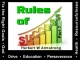 Rules of Success - Part 7