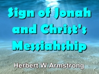 Listen to Sign of Jonah and Christ's Messiahship