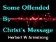 Some Offended By Christ's Message