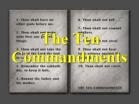 Listen to The Ten Commandments