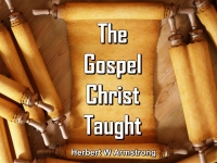 Listen to The Gospel Christ Taught