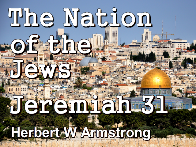 The Nation of the Jews - Jeremiah 31